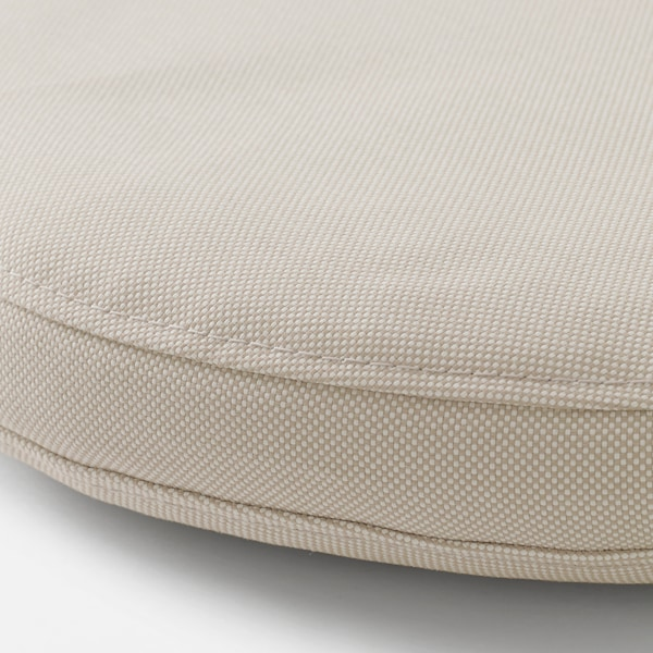 FRÖSÖN/DUVHOLMEN Chair cushion, outdoor, beige, 35 cm