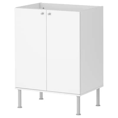 FULLEN وحدة تخزين حوض حمام, أبيض, 58x79 سم