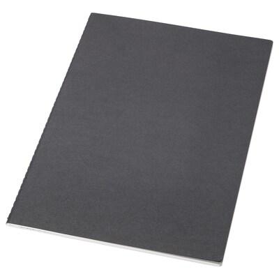 FULLFÖLJA Note-book, black, 26x18 cm