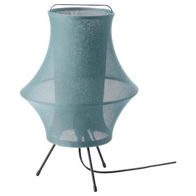 FYXNÄS Table lamp, turquoise, 44 cm