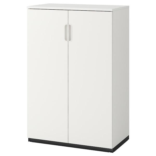 GALANT خزانة مع أبواب, أبيض, 80x120 سم