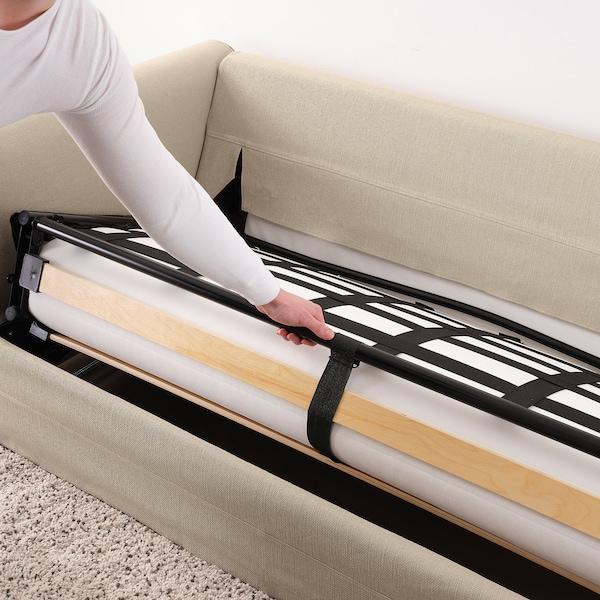 GRÖNLID كنبة-سرير بمقعدين, Sporda طبيعي
