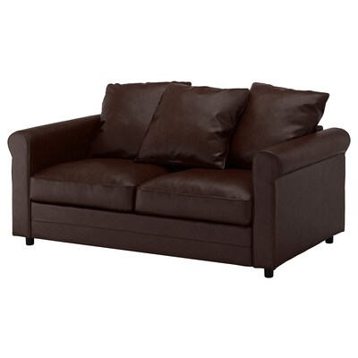 GRÖNLID 2-seat sofa, Kimstad dark brown