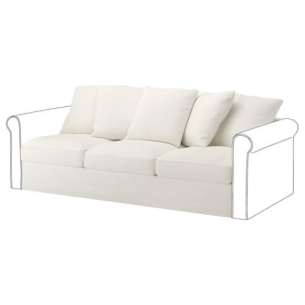 GRÖNLID قسم 3 مقاعد, Inseros أبيض