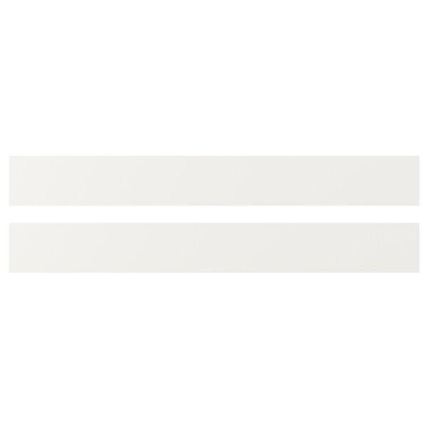 HÄGGEBY واجهة دُرج, أبيض, 80x10 سم