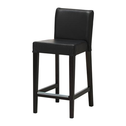 HENRIKSDAL Bar stool with backrest IKEA : henriksdal bar stool with backrest black0105968PE253738S4 from www.ikea.com size 500 x 500 jpeg 17kB