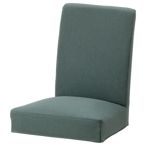 HENRIKSDAL chair cover Finnsta turquoise