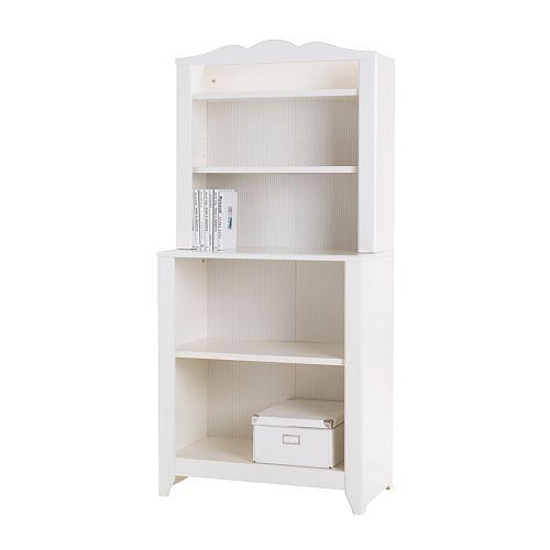 HENSVIK Cabinet with shelf unit, white