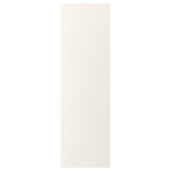 HITTARP باب, أبيض-عاجي, 60x200 سم