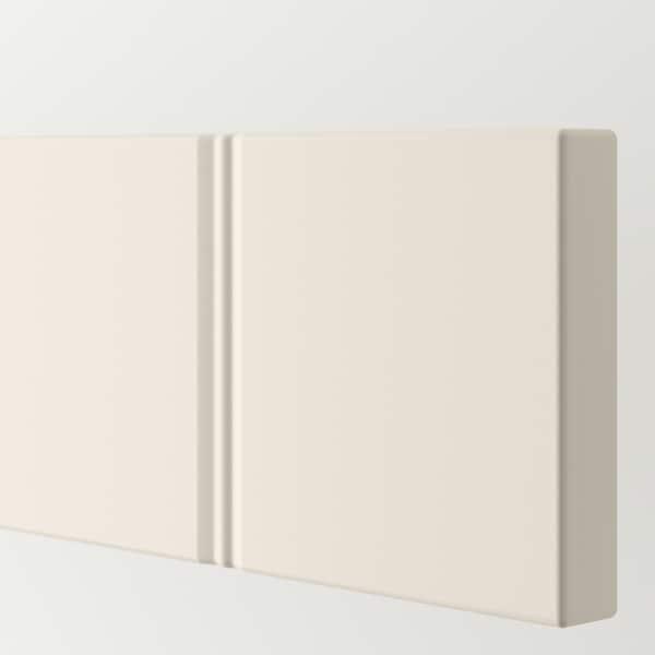 HITTARP واجهة دُرج, أبيض-عاجي, 80x10 سم