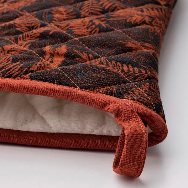 HÖSTKVÄLL قفاز فرن, أسود/ أحمر