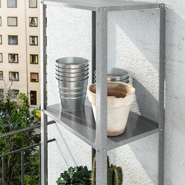 HYLLIS Shelving unit, in/outdoor, 40x27x183 cm