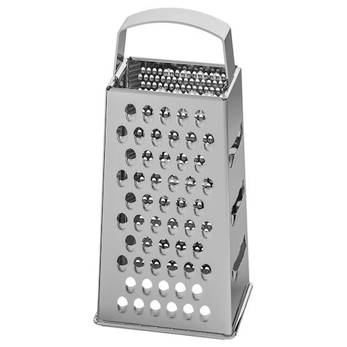 IDEALISK grater stainless steel 12 cm 10 cm 20 cm