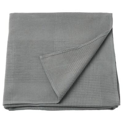 INDIRA غطاء سرير, رمادي, 150x250 سم