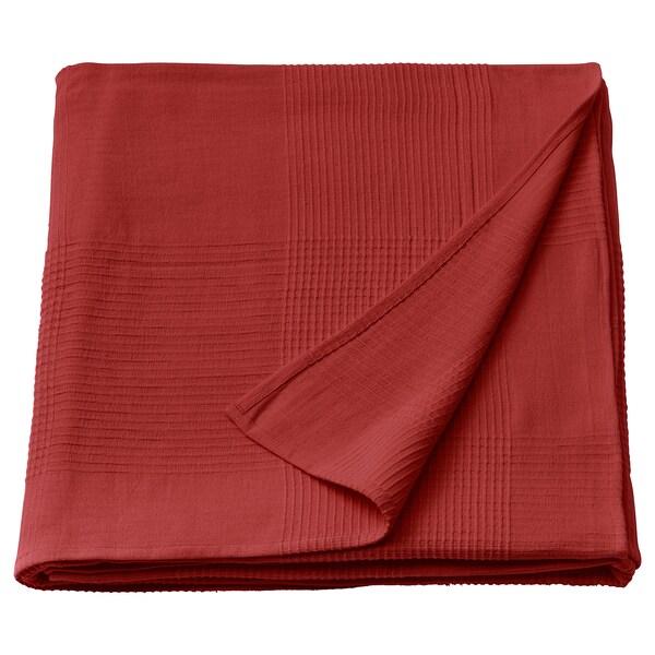 INDIRA غطاء سرير, أحمر-برتقالي, 150x250 سم