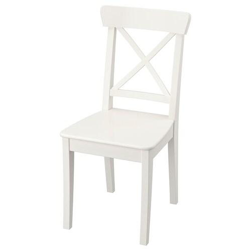 INGOLF chair white 110 kg 43 cm 52 cm 91 cm 43 cm 38 cm 45 cm