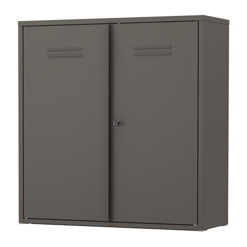 Superb IVAR Cabinet With Doors