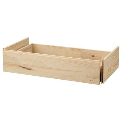IVAR Drawer, pine, 80x50x18 cm
