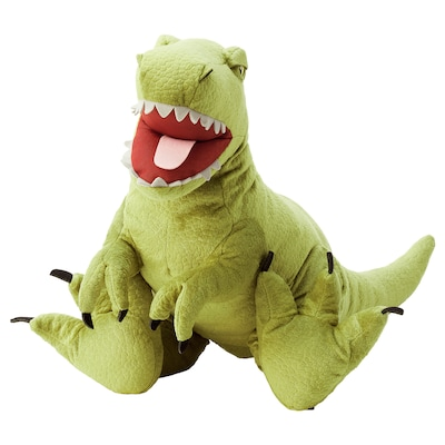 JÄTTELIK دمية طرية, ديناصور/ديناصور/تيرانوصوروس ركس, 66 سم