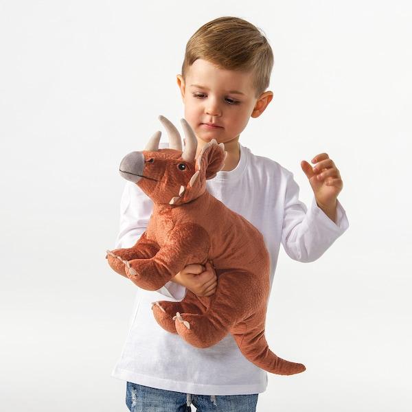 JÄTTELIK دمية طرية, ديناصور/ديناصور/تريسيراتوبس, 46 سم