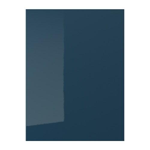 Järsta Door High Gloss Black Blue
