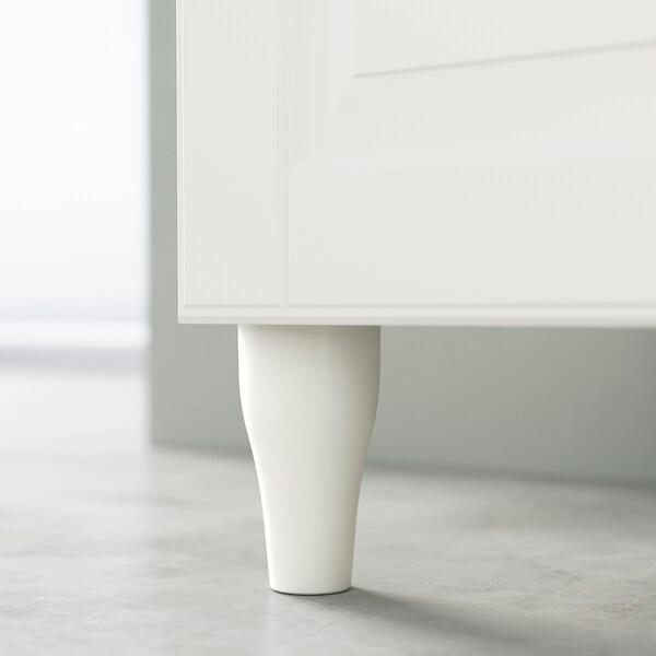 KABBARP Leg, white, 10 cm