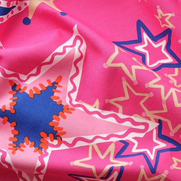 KARISMATISK Pre-cut fabric, assorted patterns pink/blue, 150x300 cm