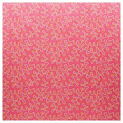 KARISMATISK قماش مقصوص, نقش منوع زهري, 150x300 سم