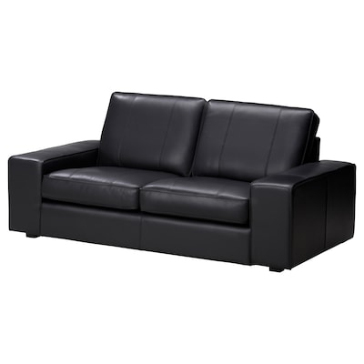 KIVIK Two-seat sofa, Grann/Bomstad black