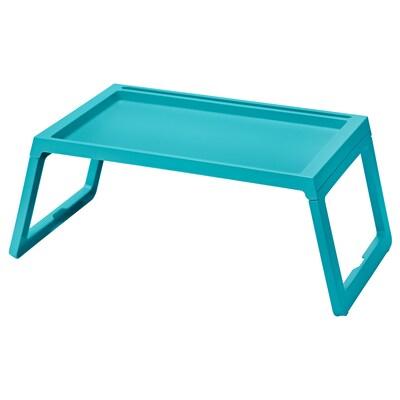 KLIPSK Bed tray, turquoise