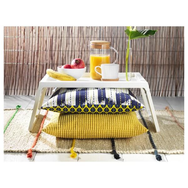 KLIPSK bed tray white 56 cm 36 cm 26 cm