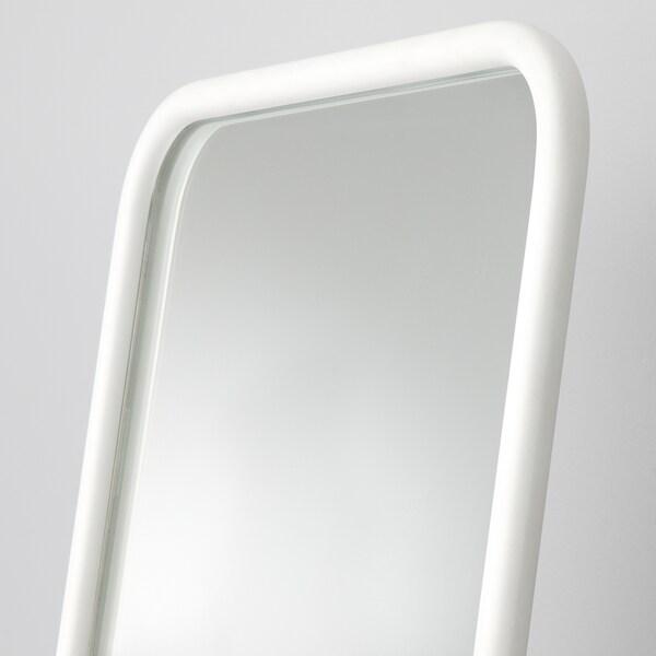 KNAPPER مرآة بحامل, أبيض, 48x160 سم