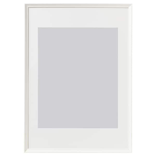 KNOPPÄNG Frame, white, 50x70 cm