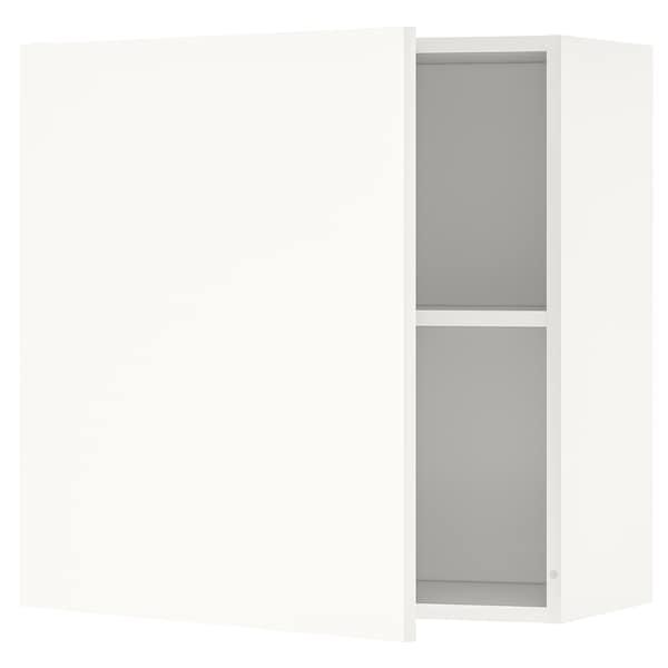 KNOXHULT خزانة حائط بباب, أبيض, 60x60 سم