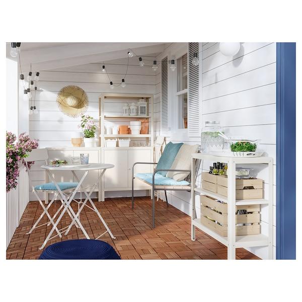 KOLBJÖRN Cabinet in/outdoor, beige, 80x81 cm
