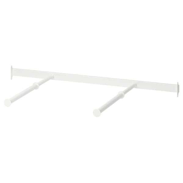 KOMPLEMENT pull-out clothes rail white 96 cm 100 cm 35 cm 35 cm 7 kg
