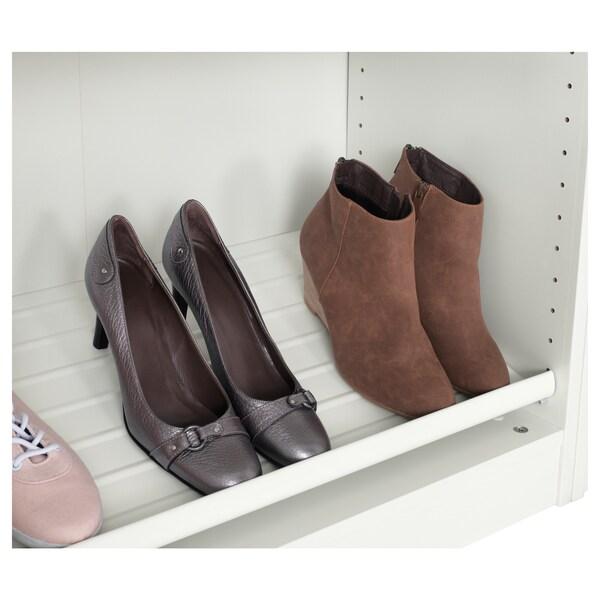 KOMPLEMENT Shoe shelf, white, 100x35 cm
