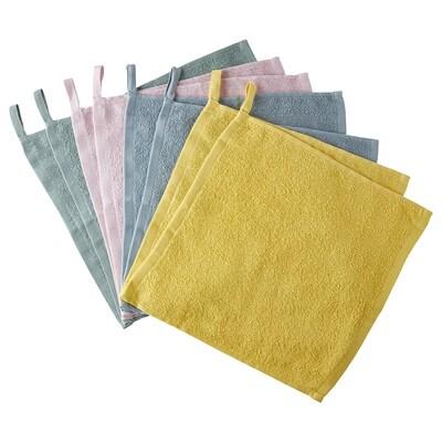 KRAMA منشفة صغيرة, عدة ألوان, 30x30 سم