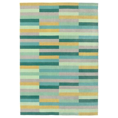 KRÖNGE سجاد، وبر قصير, صناعة يدوية/عدة ألوان, 170x240 سم