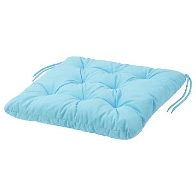 KUDDARNA وسادة كرسي، خارجي, أزرق فاتح, 44x44 سم