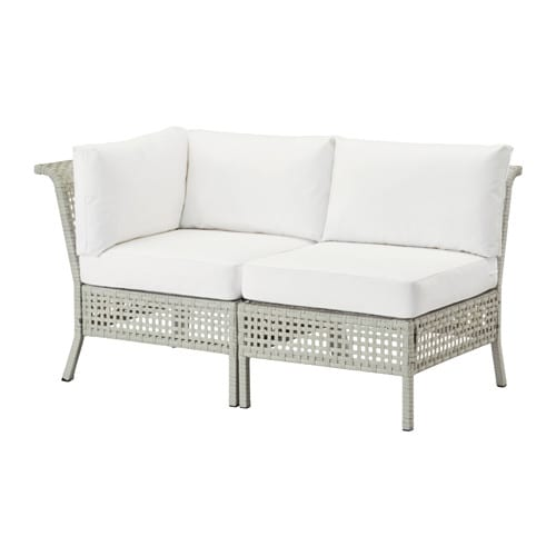 Kungsholmen kungs 2 seat sofa outdoor ikea - Ikea sofa exterior ...