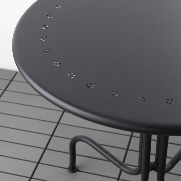 LÄCKÖ table, outdoor grey 71 cm 70 cm