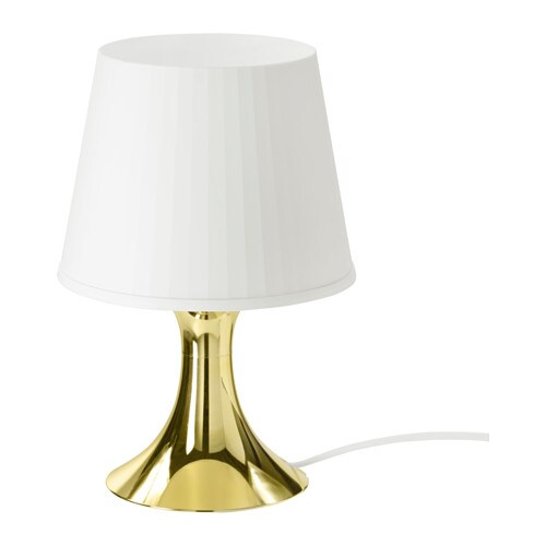 LAMPAN Table lamp, gold-colour