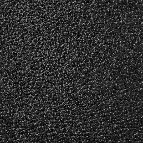 LANDSKRONA مسند قدم, Grann/Bomstad أسود/خشبي