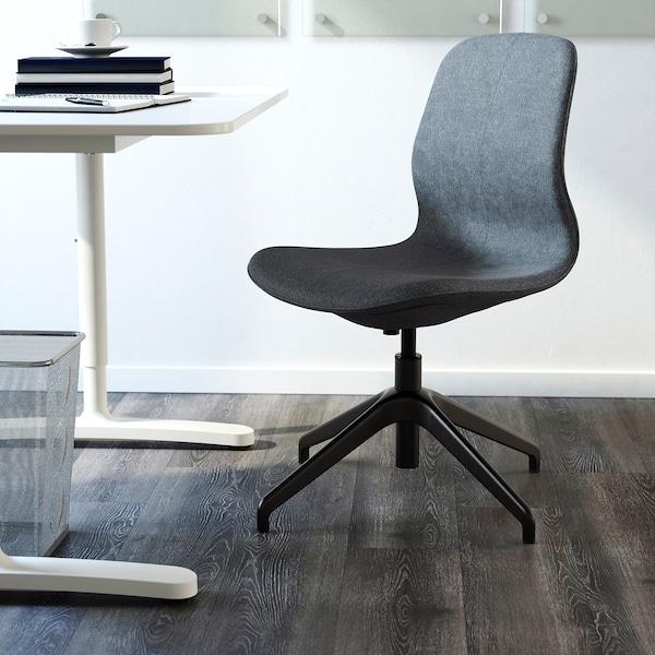 LÅNGFJÄLL كرسي مؤتمرات, Gunnared أزرق/أسود