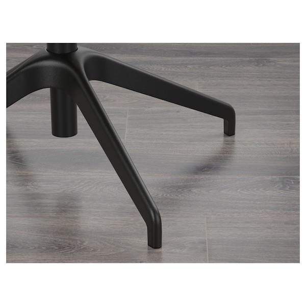 LÅNGFJÄLL كرسي اجتماعات بمساند ذراعين, Gunnared بيج/أسود