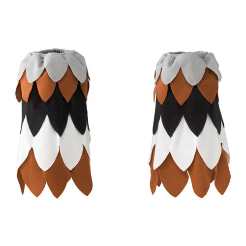 LATTJO Eagle feet, 1 pair, multicolour