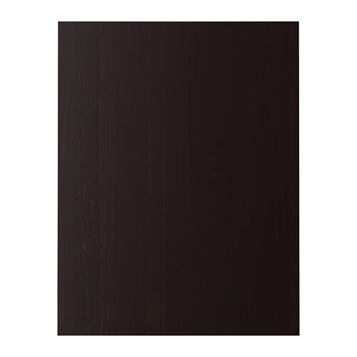 LAXARBY Cover panel, black-brown