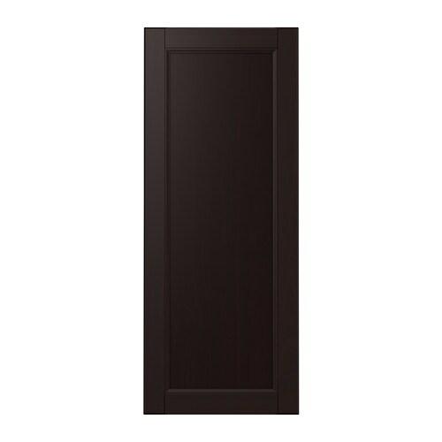 LAXARBY Door, black-brown