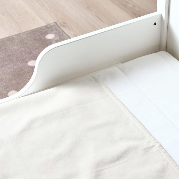 LEN Mattress protector, white, 70x100 cm